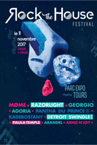 Festival ROCK THE HOUSE à TOURS @ Parc des Expositions de Tours - Billets & Places