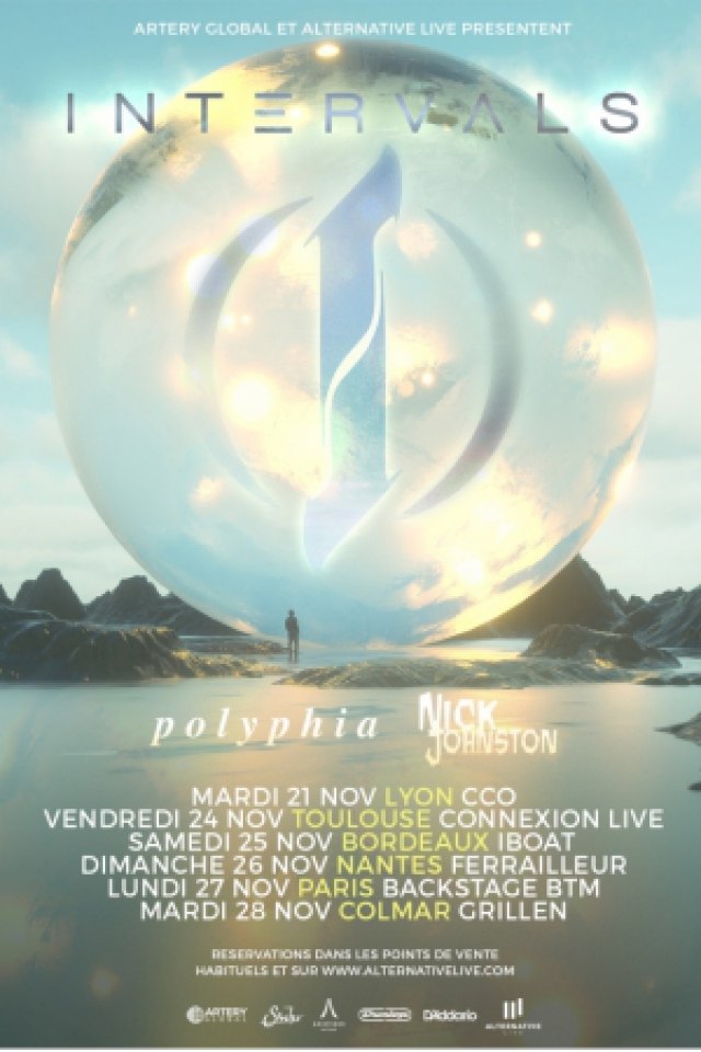 INTERVALS + POLYPHIA + NICK JOHNSTON @ Le Backstage by The Mill - Paris