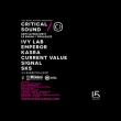 Concert Critical Sound à RAMONVILLE @ LE BIKINI - Billets & Places