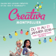 Salon CREATIVA 2018 à MONTPELLIER @ PARC DES EXPOSITIONS - Billets & Places