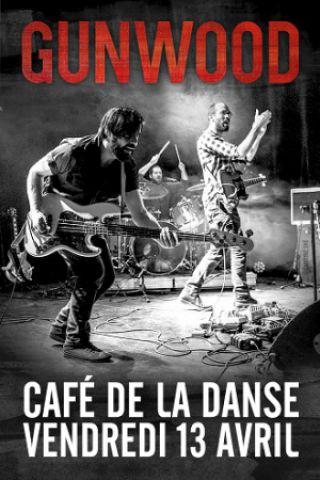 Concert GUNWOOD à Paris @ Café de la Danse - Billets & Places