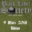 Concert BLACK LABEL SOCIETY à RAMONVILLE @ LE BIKINI - Billets & Places
