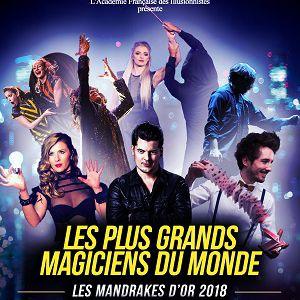 LES MANDRAKES D'OR @ Casino de Paris - Paris