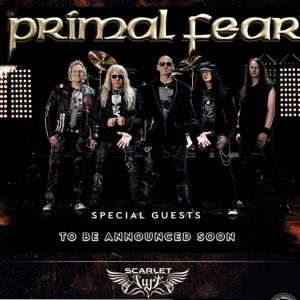 Primal Fear + Burning Witches + Scarlet Aura