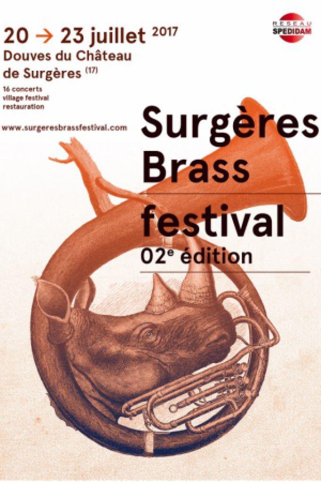 SURGÈRES BRASS FESTIVAL - PASS 4 JOURS @ CHAPITEAU - SURGÈRES
