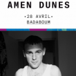 Concert AMEN DUNES + EDDIE THE WHEEL à PARIS @ Badaboum - Billets & Places
