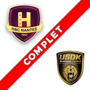 HBC Nantes - Dunkerque @ Salle métropolitaine de la Trocardière - REZÉ