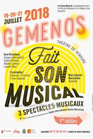 Billets MON CABARET MARSEILLAIS - Théâtre de Verdure