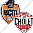 Match BCM/CHOLET à GRAVELINES @ Sportica - Salle Roger Lemaire - Billets & Places