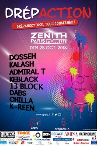 Billets DREPACTION Concert de Solidarité - Zénith Paris La Villette