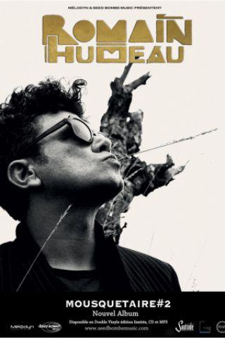 Concert ROMAIN HUMEAU + 1ère Partie à Nantes @ Le Ferrailleur - Billets & Places