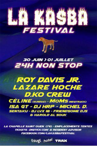 Billets LA KASBA - Roy Davis Jr. / Lazare Hoche/ D.KO Crew/ Céline Sundae - LIEU