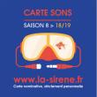 Carte ABONNÉS 2018 - 2019