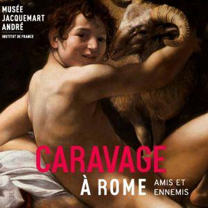 visite expo CARAVAGE À ROME, AMIS & ENNEMIS par M. Lhéritier @ musée Jacquemart-André, à l'extérieur - PARIS