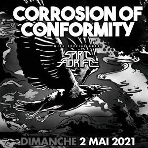 Corrosion Of Conformity + Spirit Adrift Au Grillen De Colmar