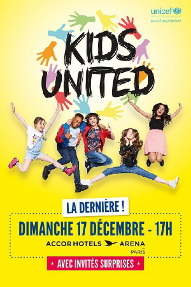 KIDS UNITED @ ACCORHOTELS ARENA - PARIS 12