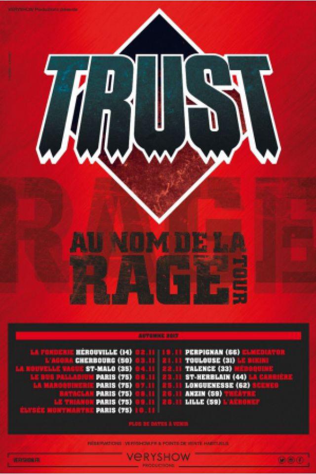 TRUST - AU NOM DE LA RAGE TOUR @ ELMEDIATOR - PERPIGNAN