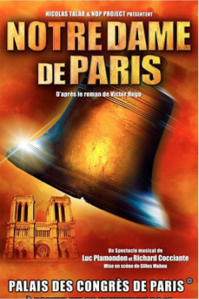 Notre-Dame de Paris @ Le Palais des Congrès de Paris - PARIS