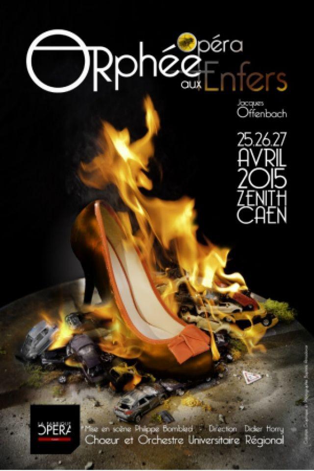 Spectacle ORPHEE AUX ENFERS à CAEN @ Zénith de Caen - Billets & Places