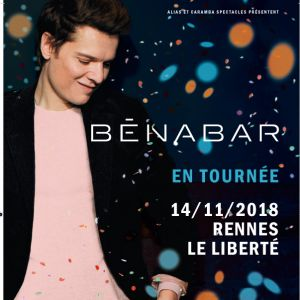 BENABAR @ Le Liberté - RENNES