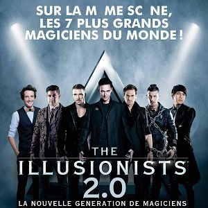 THE ILLUSIONISTS 2.0 @ Le Dôme - Marseille