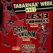 Affiche Les 3 fromages + grimskunk