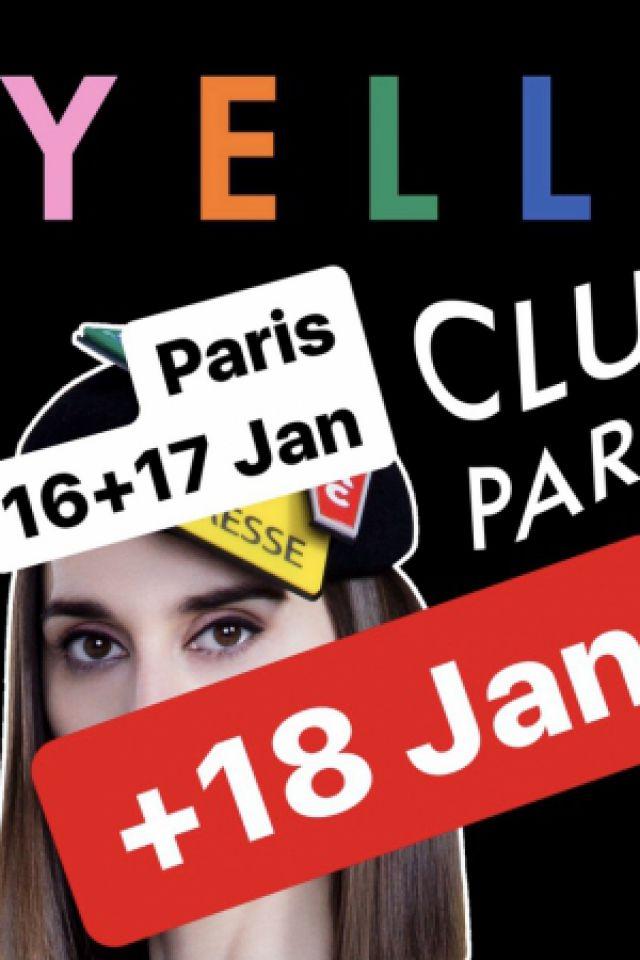 YELLE CLUB PARTY - 18 JANVIER @ Badaboum - PARIS
