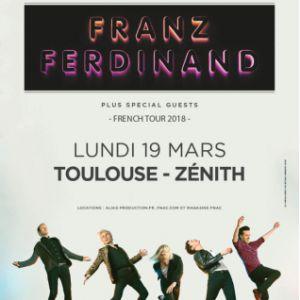 FRANZ FERDINAND @ ZENITH TOULOUSE METROPOLE - Toulouse