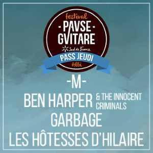 M- + Ben Harper & The Innocent Criminals + Garbage