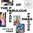 Affiche The peacock society : the fabulous parade of the xmas peacock