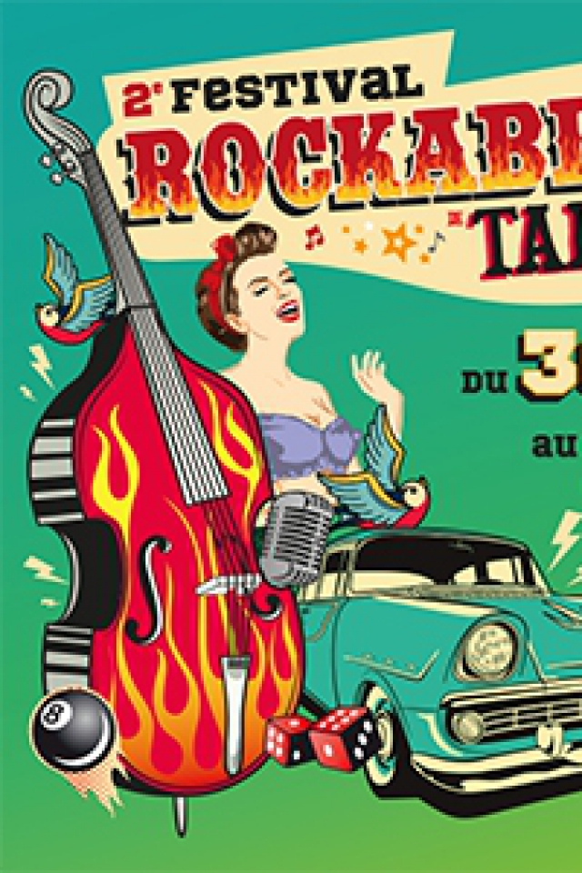 2e FESTIVAL ROCKABILLY DE TARBES - PASS 2 JOURS @ LA GESPE - TARBES