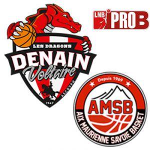 PRO B - VOLTAIRE VS AIX MAURIENNE @ Complexe Sportif Jean Degros - DENAIN