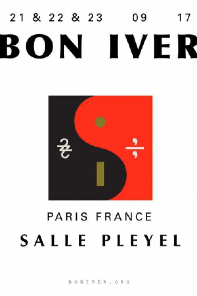 BON IVER EN CONCERT @ Salle Pleyel - Paris