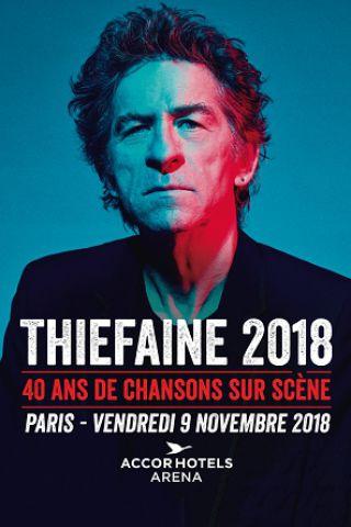 Concert THIEFAINE 2018 à PARIS @ ACCORHOTELS ARENA - Billets & Places