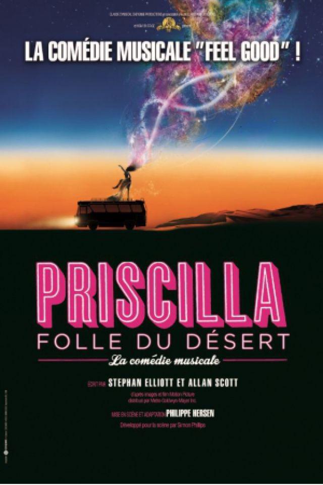 Spectacle PRISCILLA FOLLE DU DÉSERT