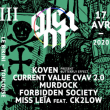 Concert GLEAM III :  Koven, Current Value, Murdock & more