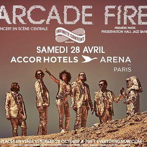 Billets Arcade Fire - ACCORHOTELS ARENA