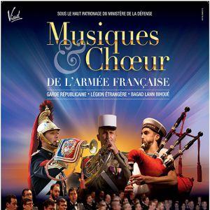 MUSIQUES ET CHŒUR DE L'ARMEE FRANCAISE @ Cité des Congrès - Grand Auditorium - Nantes