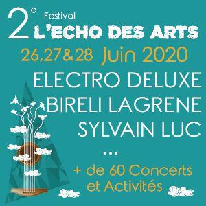 Festival L'echo Des Arts - Pass 2 Jours