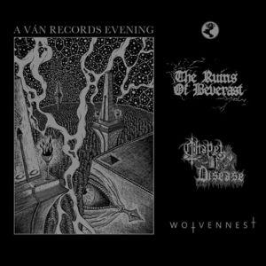 Ván Records   Ruins Of Beverast + Chapel Of Disease + Wolvennest
