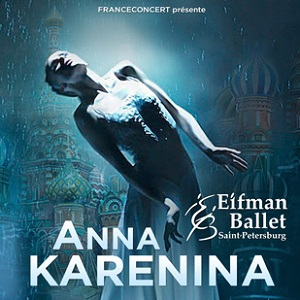 ANNA KARENINE  @ Le Palais des Congrès de Paris - PARIS