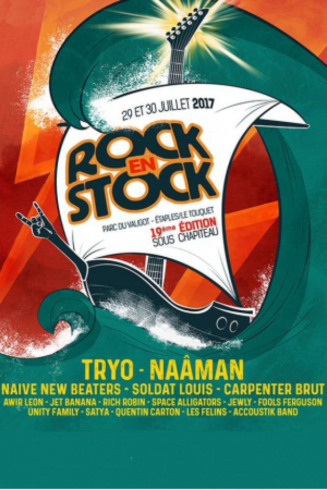 FESTIVAL ROCK EN STOCK - SAMEDI @ Parc du Valigot - ÉTAPLES