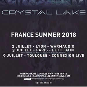 CRYSTAL LAKE @ Connexion Live - Toulouse