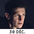 Concert 30/12/2018 EVAN ROGISTER à TOULOUSE @ HALLE AUX GRAINS CONCERT - Billets & Places