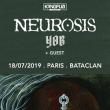 Concert NEUROSIS à PARIS @ LE BATACLAN - Billets & Places