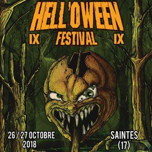 Pass Samedi HELL'OWEEN FESTIVAL IX @ Théâtre Geoffroy Martel - Saintes - SAINTES