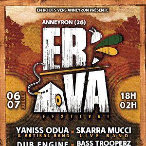 ERVA Festival - Samedi @ Base De Loisirs De L'Argentelle - ANNEYRON