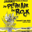 Festival PLEIN AIR DE ROCK JARNY # 24 @ Château de Moncel - Billets & Places