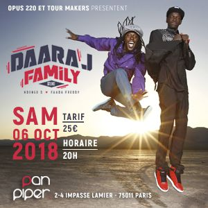 DAARA J FAMILY feat. Faada Freddy & Ndongo D. @ LE PAN PIPER - PARIS