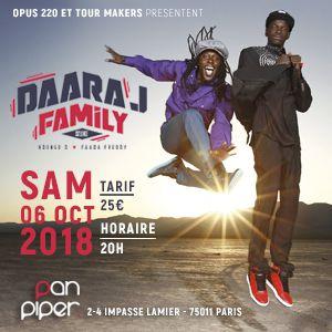DAARA J FAMILY feat. Faada Freddy & Ndongo D. @ LE PAN PIPER - PARIS